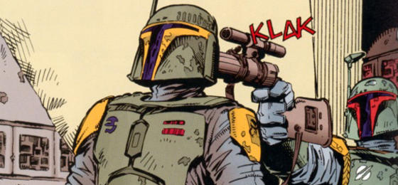 Boba Fett and Jodo Kast
