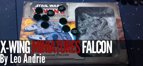 X-Wing Miniatures Millennium Falcon Revealed