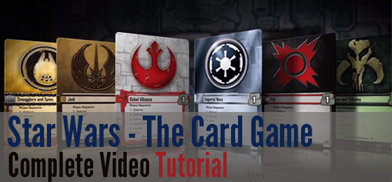 SW Living Card Game Tutorial